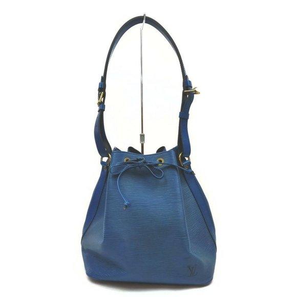 """""""Louis Vuitton Blue Epi Toledo Petite Noe Drawstri"""
